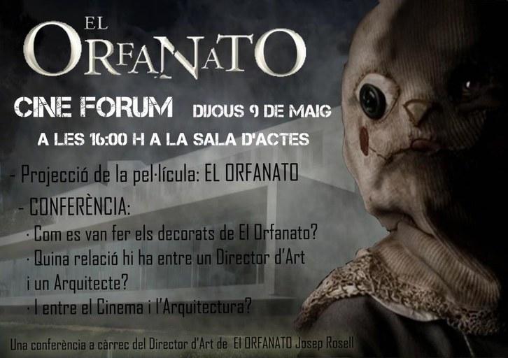 Cinefòrum: El Orfanato